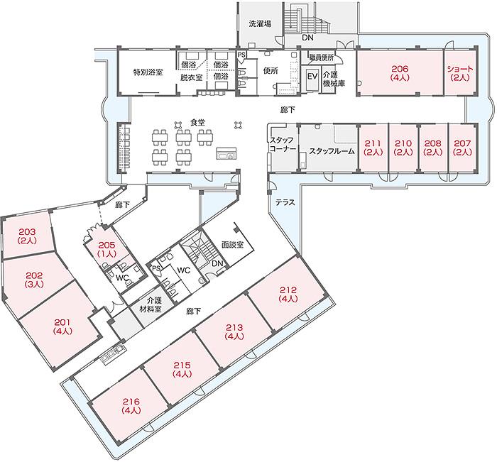 居室配置図